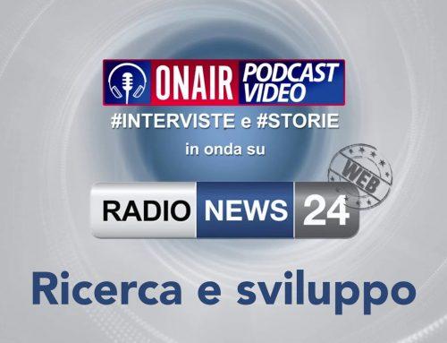 Parliamo di ricerca e sviluppo su Radio News 24