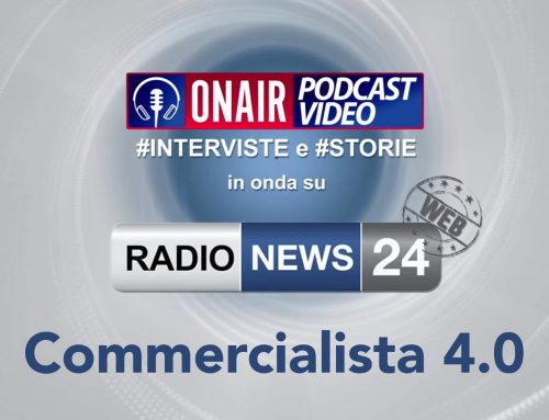 Parliamo di Commercialista 4.0 su Radio News 24